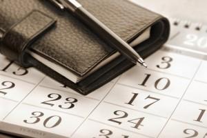 Agenda pour prise de rendez-vous