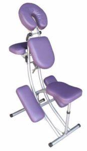 Chaise ergonimique pour le shiatsu assis
